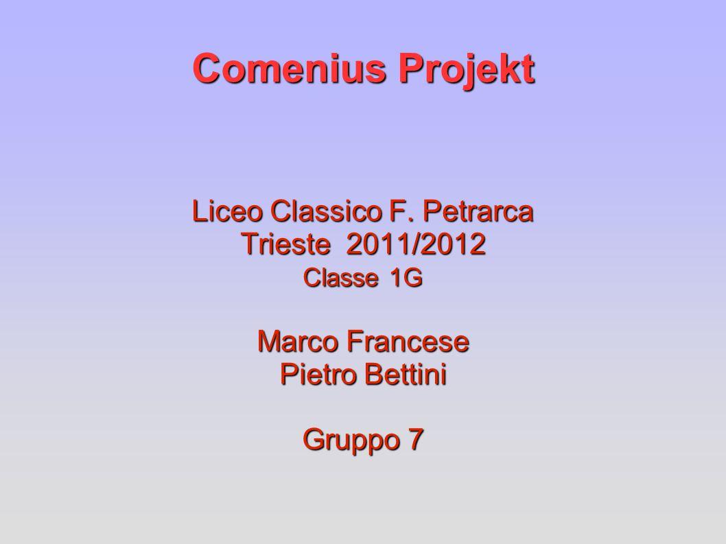 Comenius Projekt Liceo Classico F.