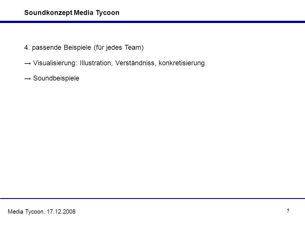 6 Media Tycoon, 17.12.2008 5.