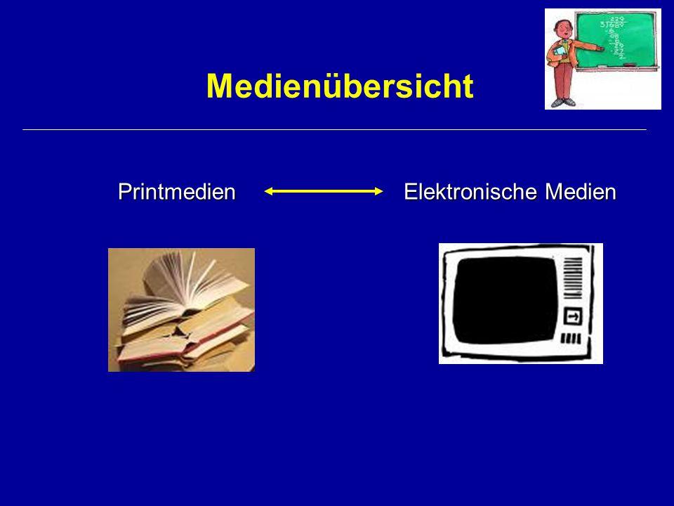 Printmedien Zeitung Buch Zeitschrift Comic