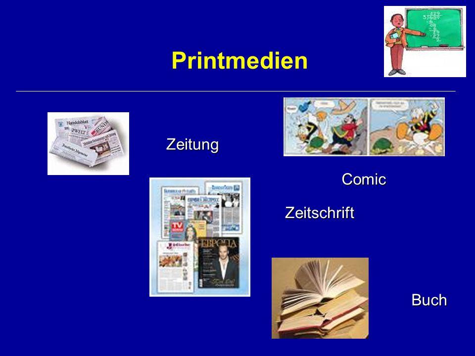 Elektronische Medien Kino PC-Spiele Internetauftritte Video Hörbuch Reportage Hörspiel Interview...