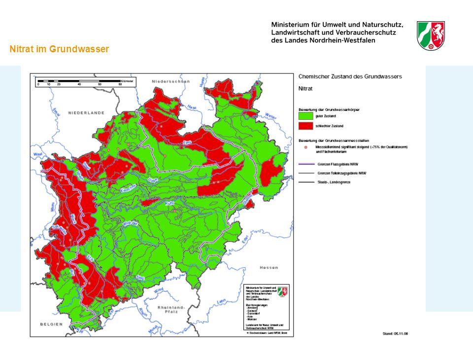 Bewirtschaftungsziele - HMWB 60 % der Gewässer sind HMWB Erreichung des guten ökologischen Potenzials statt des guten ökologischen Zustands Maßnahmen in der Regel trotzdem notwendig Förderung durch Land, EU etc.