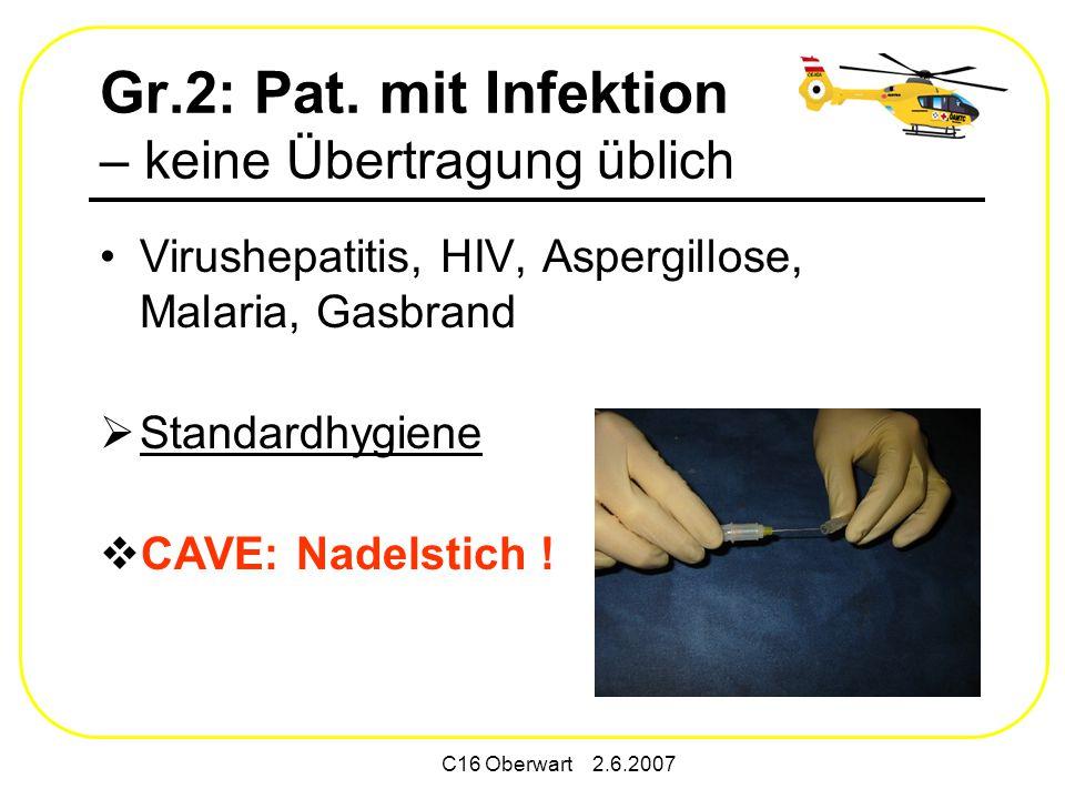 C16 Oberwart 2.6.2007 Gr.2: Pat.