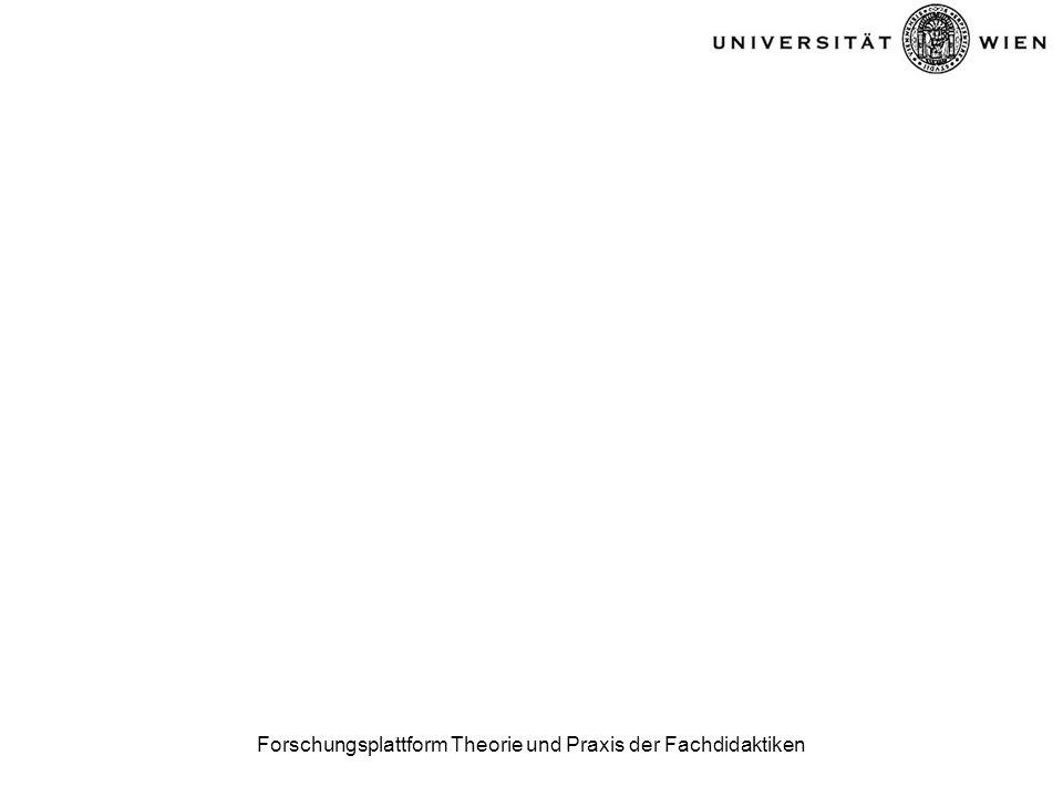 Forschungsplattform Theorie und Praxis der Fachdidaktiken