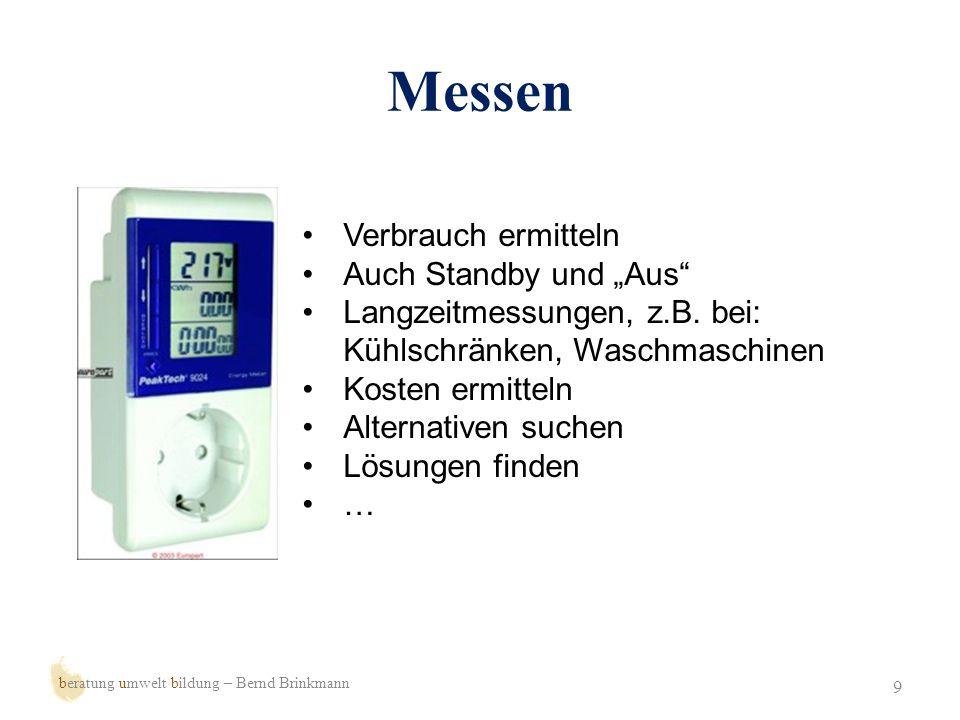 Sparen 10 beratung umwelt bildung – Bernd Brinkmann Geräte mit geringem Verbrauch kaufen Hilfstechnik (schaltbare Steckdosenleiste) Energiesparlampen Nutzung einschränken …