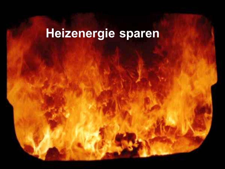 Womit heizen wir heute? Heizöl Erdgas Strom Regenerative Energien