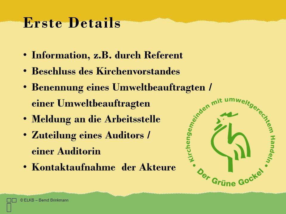 Die Kosten Eigenanteil der Kirchengemeinde: 950 – 1.600 Je nachdem ob Grüner Gockel oder EMAS und ob die Kirchengemeinde einen eigenen Auditor im Team hat.