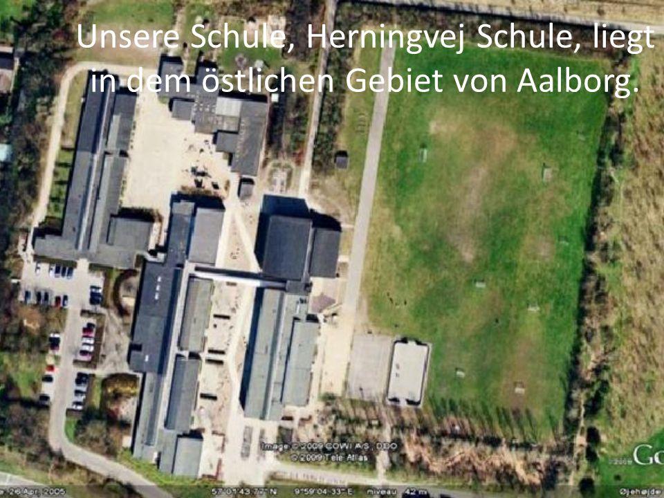 Unsere Schule, Herningvej Schule, liegt in dem östlichen Gebiet von Aalborg.