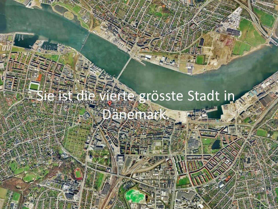 Sie ist die vierte grösste Stadt in Dänemark.