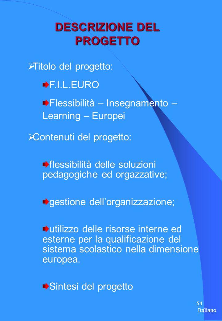 53 Tedesco F lessibità DIE nsegnamento L earning EURO pei
