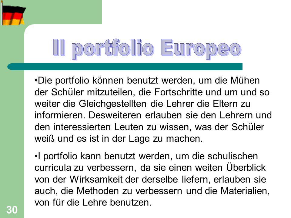31 Curriculum Vitae for european Portfolio
