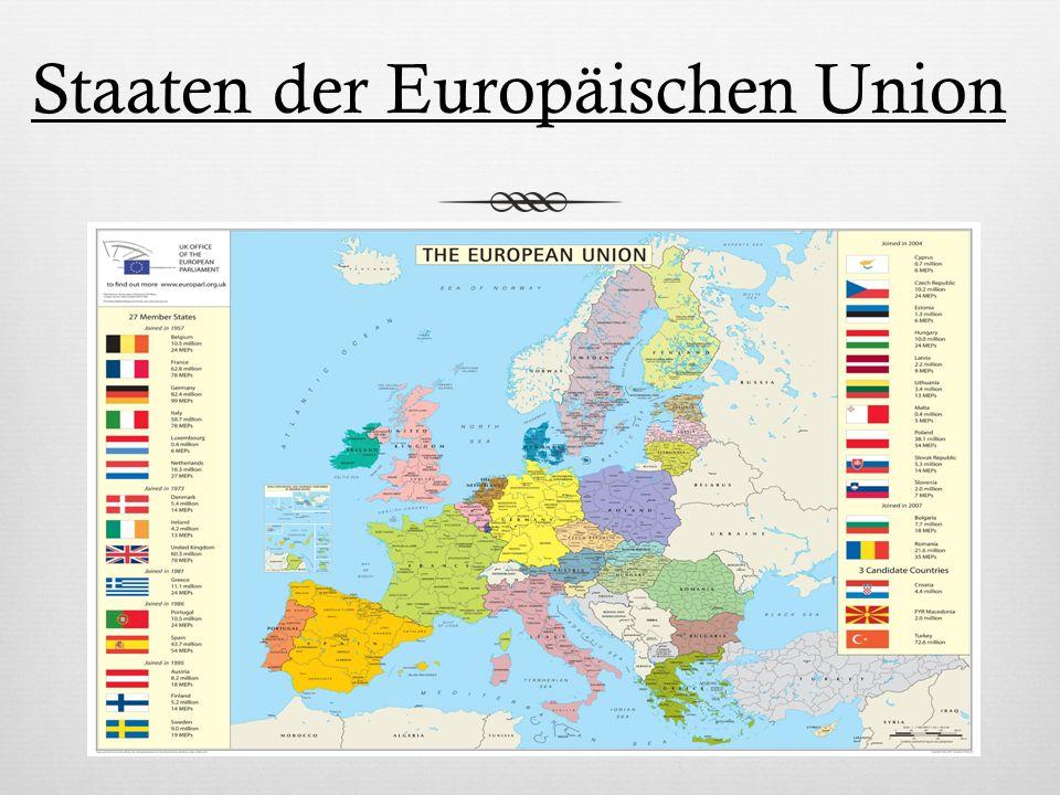 Staaten der Europäischen Union