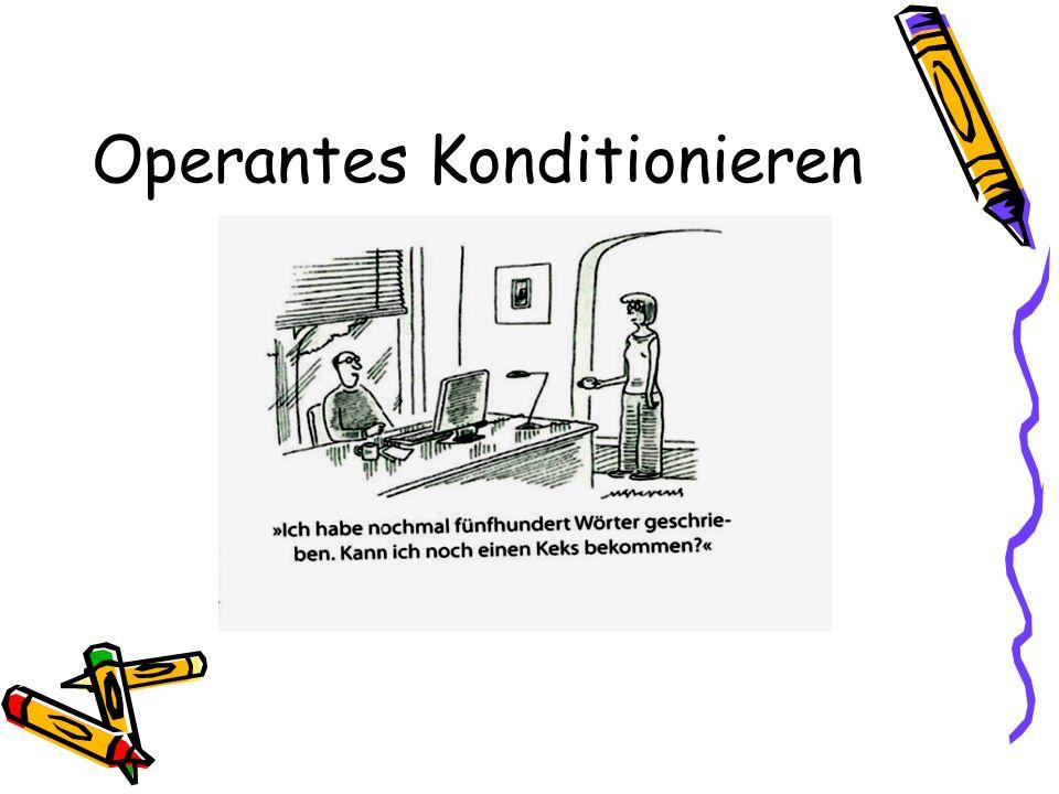 Operantes Konditionieren