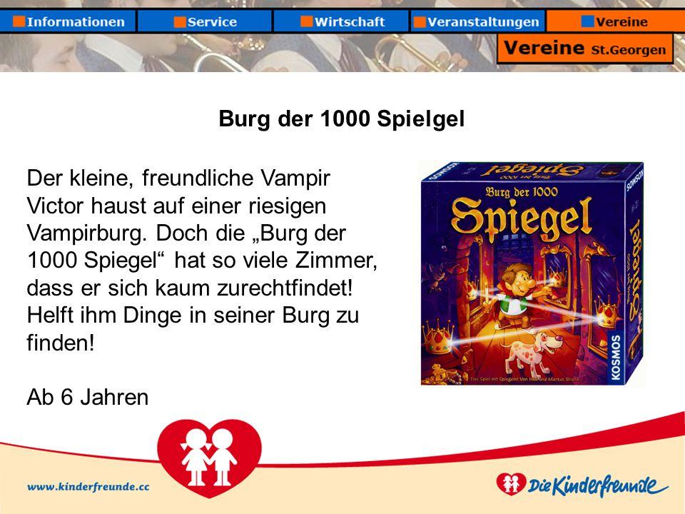 Burg der 1000 Spielgel Der kleine, freundliche Vampir Victor haust auf einer riesigen Vampirburg.