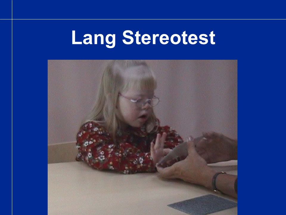 Lang Stereotest