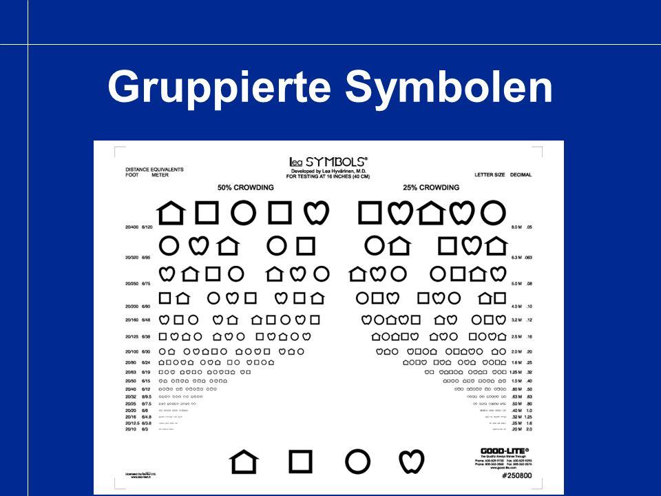 Gruppierte Symbolen