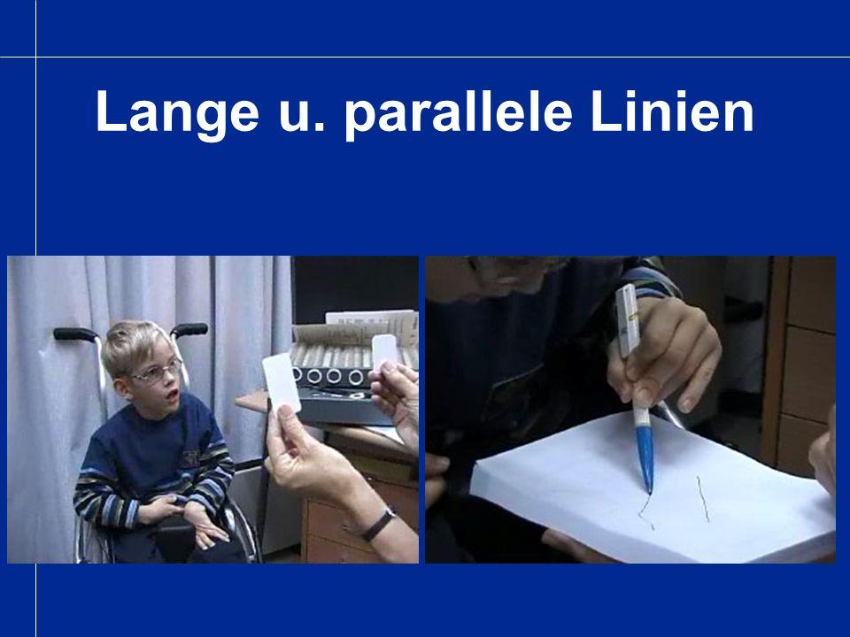 Lange u. parallele Linien