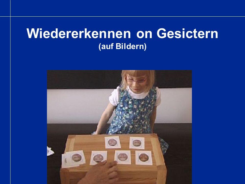 Wiedererkennen on Gesictern (auf Bildern)