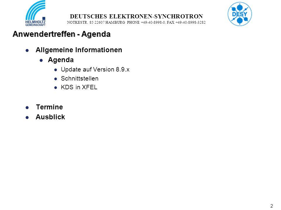 2 2 DEUTSCHES ELEKTRONEN-SYNCHROTRON NOTKESTR. 85 22607 HAMBURG PHONE +49-40-8998-0.