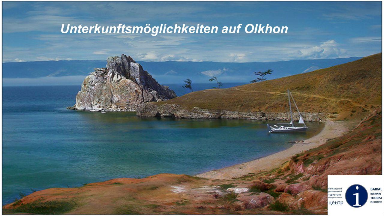 Unterkunftsmöglichkeiten auf Olkhon