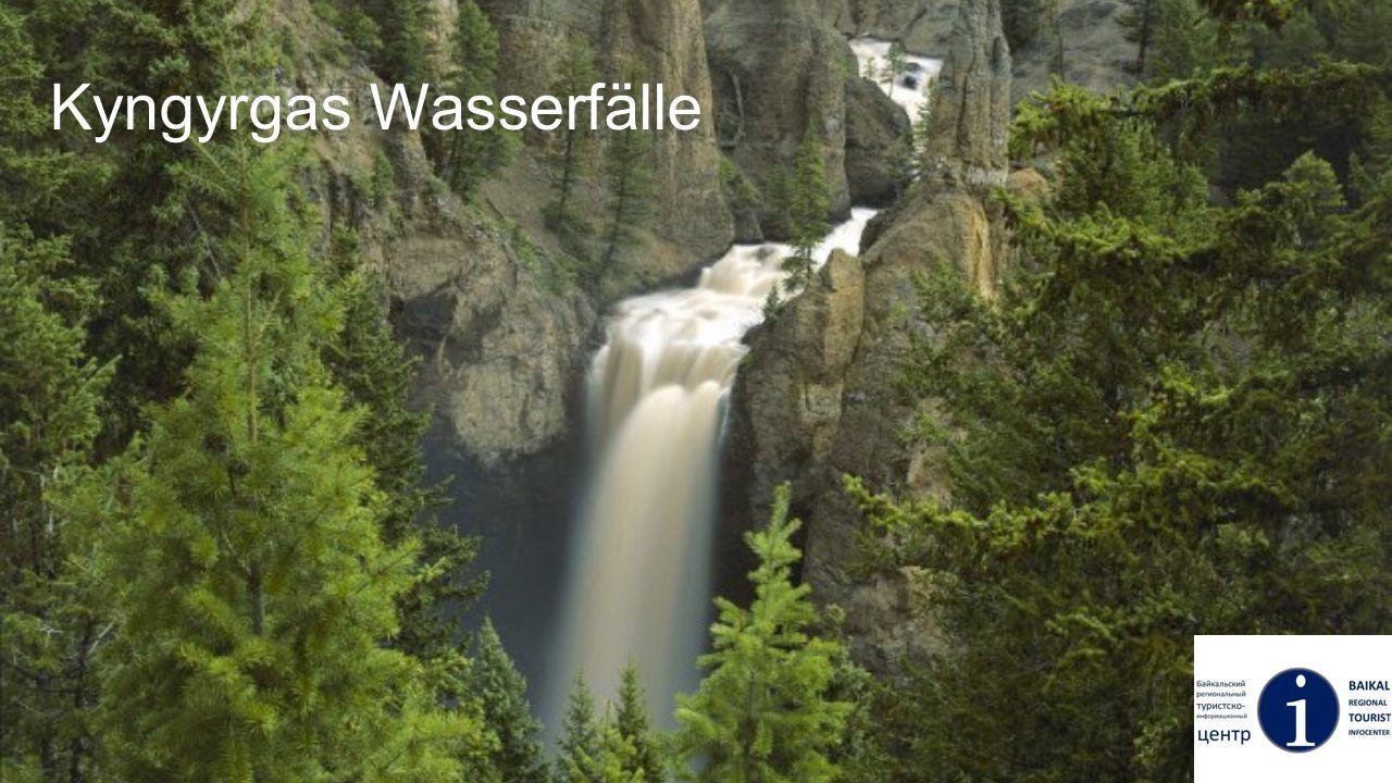 Kyngyrgas Wasserfälle