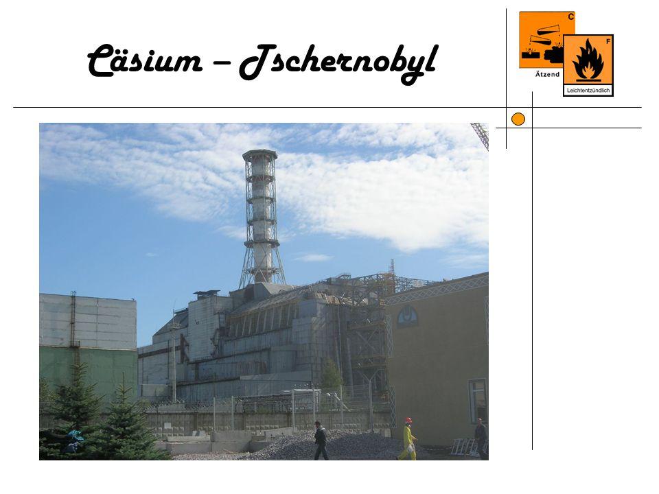 Cäsium – Tschernobyl