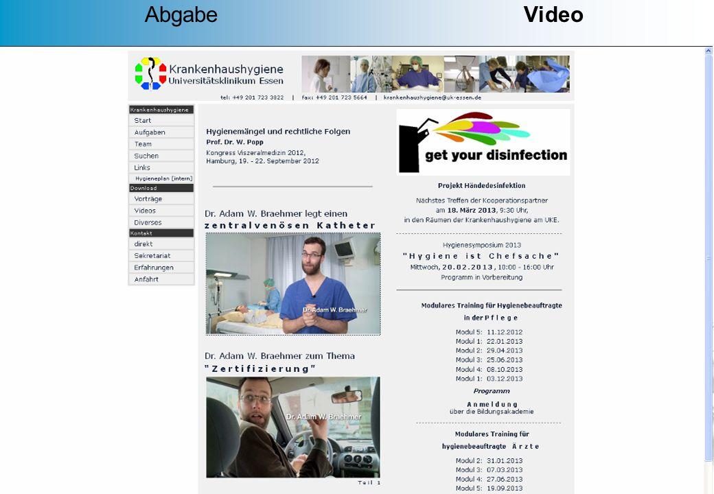 MD 42 Anschauliche Kurzfilme mit Ton Sprachförderung des Fachbereiches Gesundheit Emsland Gesundheitsamt der Städteregion Aachen Gesundheitsamt Neu-Ul