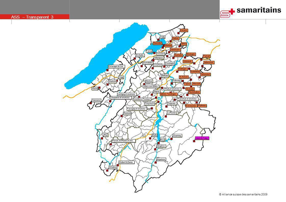 © Alliance suisse des samaritains 2009 ASS – Transparent 3