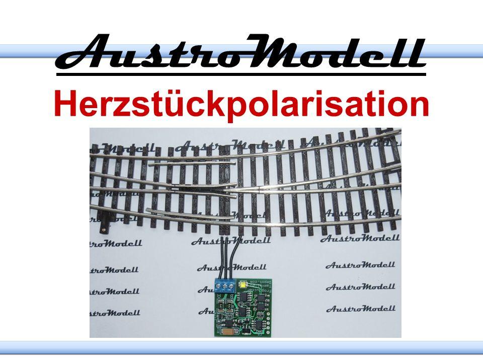 Gleisprüfer http://AMW.huebsch.at Visualisierung der Spannungen am Gleis und über Trennstellen für Digital und Analogversorgung N H0 0 1 / (G)