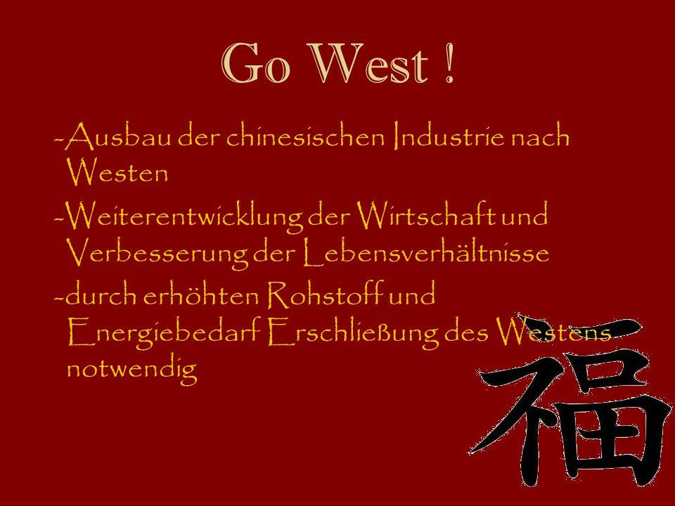 Go West .