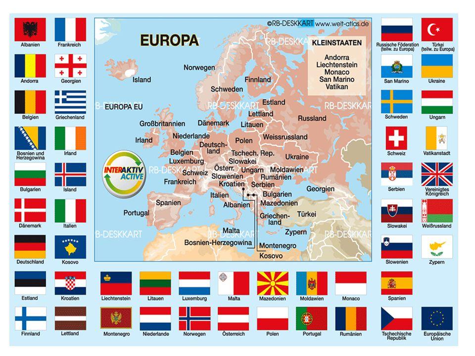 12 Sterne: Sie bedeuten die Vollkommenheit und die Union von Staaten mit gemeinsamen Regeln und Interessen Die EU hat 500 Millionen Einwohner Der Sitz der EU ist in Brüssel Die Melodie der EU ist von Beethoven Hymne an die FreudeHymne an die Freude Die Türkei wartet auf einen Eintritt in die EU