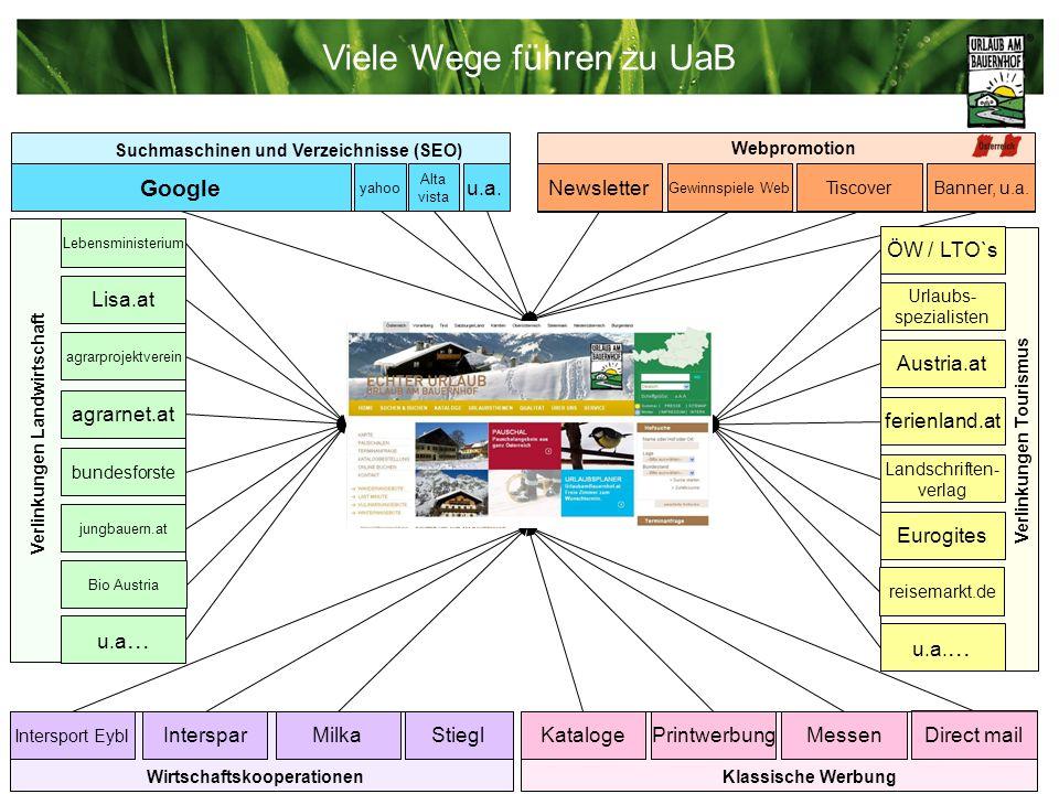 Internet bis Mai 2009 UaB-Plattform (inkl.