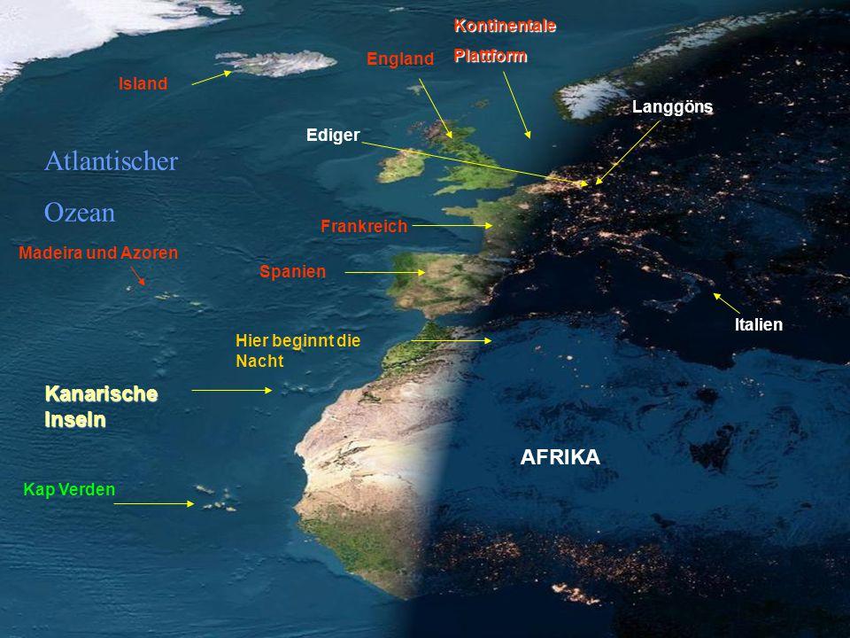 SPEKTAKULÄR. Satellitenphotos von Europe und Afrika.
