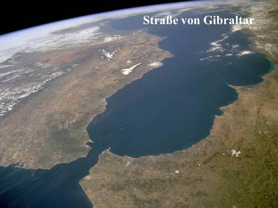 SANDSTURM ÜBER NORDAFRIKA RICHTUNG ATLANTIK und KANARISCHE INSELN.