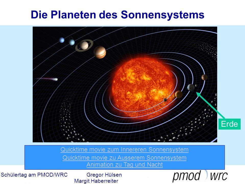 Schülertag am PMOD/WRCGregor Hülsen Margit Haberreiter Die explosive Sonne