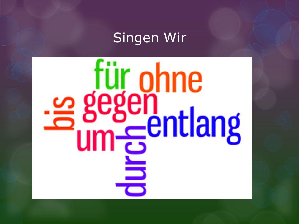 Singen Wir