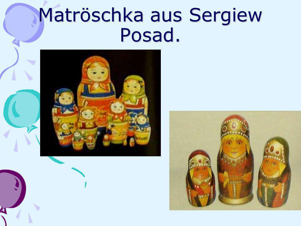 Matröschka aus Sergiew Posad.