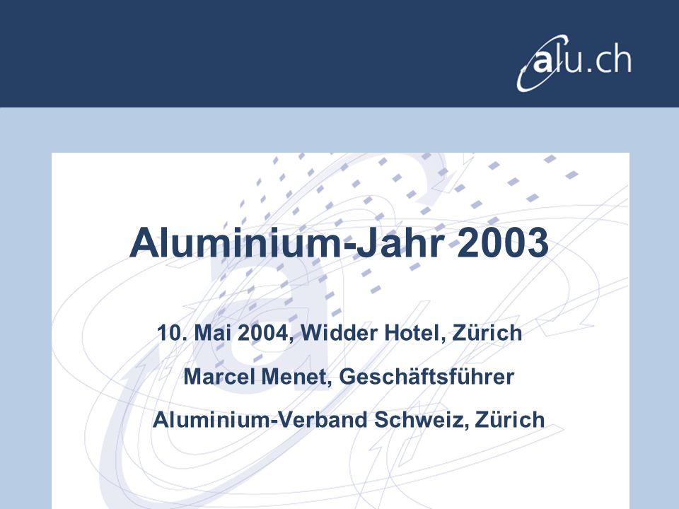 Aluminium-Jahr 2003 10.