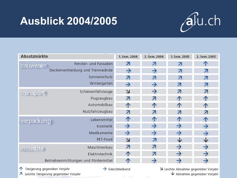 Ausblick 2004/2005