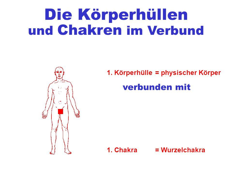 Die Körperhüllen 1. Körperhülle= physischer Körper verbunden mit 1.