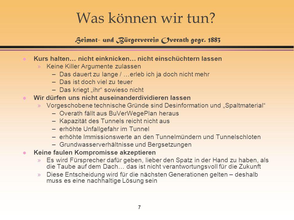 7 Was können wir tun. Heimat- und Bürgerverein Overath gegr.