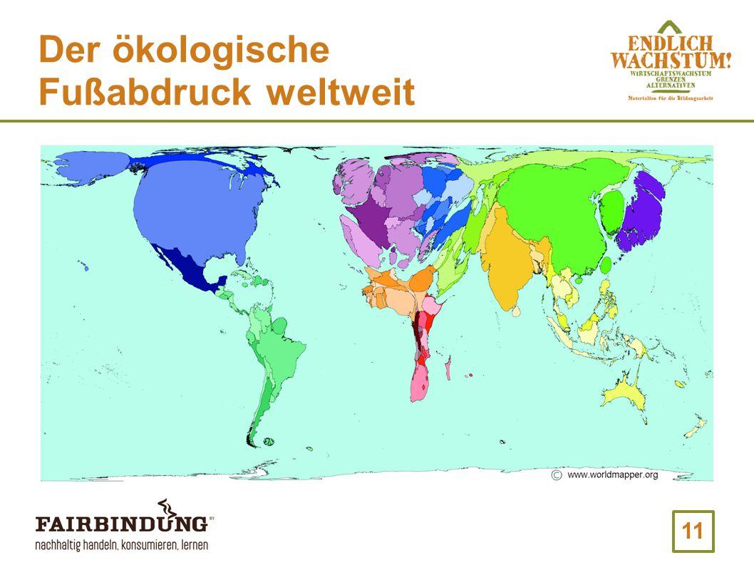 11 Der ökologische Fußabdruck weltweit