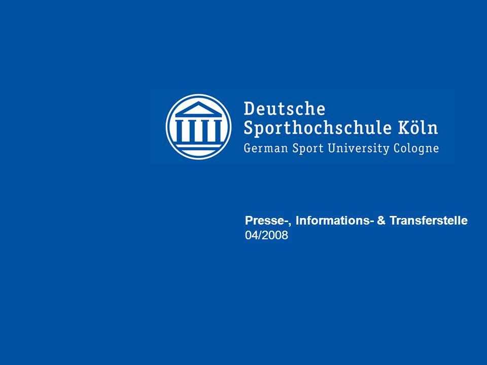 Presse-, Informations- & Transferstelle 04/2008