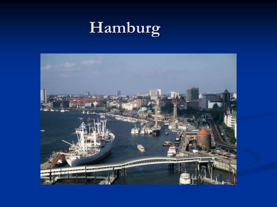 Die Freie und Hansestadt Hamburg ist als Stadtstaat ein Land der Bundesrepublik Deutschland, zweitgrößte Stadt Deutschlands, siebtgrößte der Europäischen Union sowie die größte Stadt in der Europäischen Union, die nicht die Hauptstadt eines Staates ist.