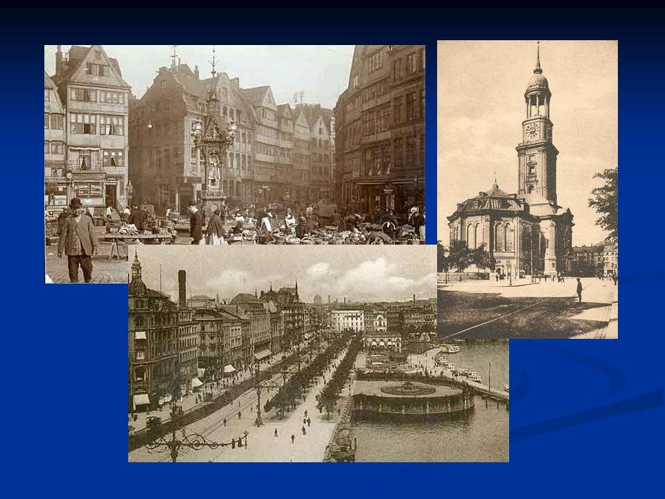 Geographie Hamburg liegt in Norddeutschland an der Mündung von Alster und Bille in die Elbe, die 110 km weiter nordwestlich in die Nordsee fließt.