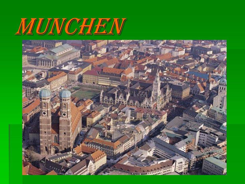 Karte Munchen