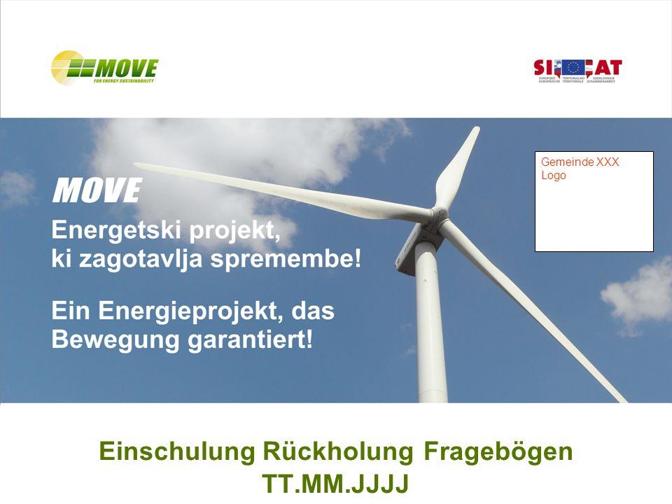 MOVE-Energieplan XXXTT.MM.JJJJ 12 Los geht ´s ! Ab TT.MM.JJJJ bis TT.MM.JJJJ