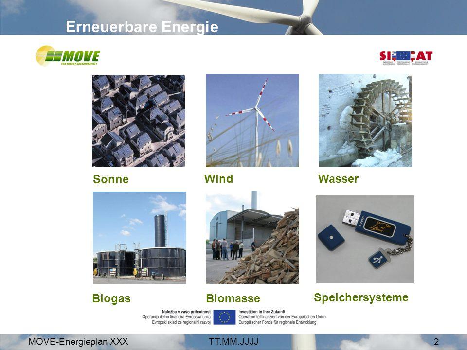 MOVE-Energieplan XXXTT.MM.JJJJ 13 weil wir dafür zahlen müssen Kosten für Schäden durch Klimawandel –Stern-Review Pönalezahlungen für Österreich –da Kyoto-Ziel nicht erreicht –1,25 bis 4 Mrd.