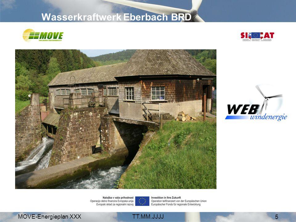 MOVE-Energieplan XXXTT.MM.JJJJ 5 Wasserkraftwerk Eberbach BRD