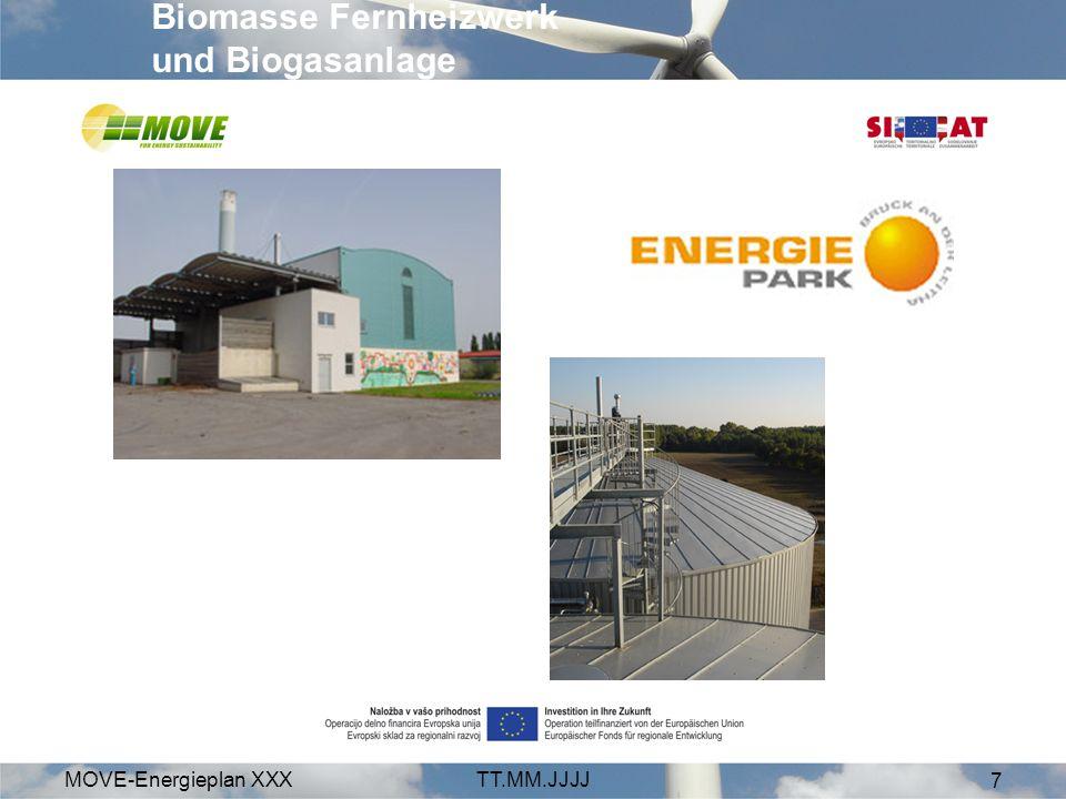 MOVE-Energieplan XXXTT.MM.JJJJ 18 weil erneuerbare Energie unserer Wirtschaft gut tut Investitionsvolumen der Projekte: 520 Mio.