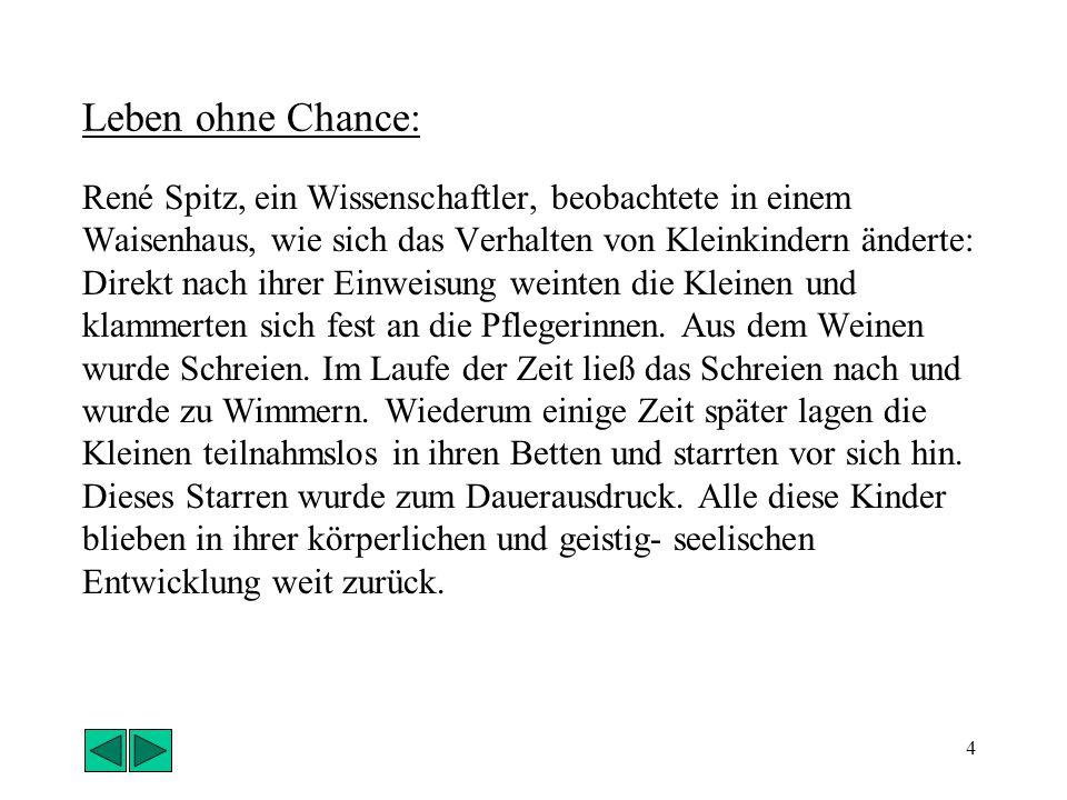 3 Ein folgenschweres Experiment: Der Stauferkaiser Friedrich II. wollte wissen, welches die Ursprache der Menschen ist. Deshalb ließ er 1268 Säuglinge